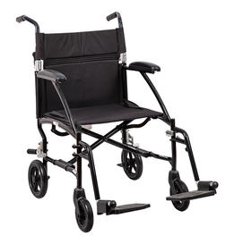 Manual 19.5' Width Transport Chair