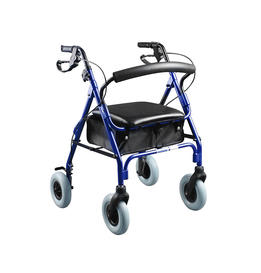 Deluxe Aluminum Rollator with 8' casters