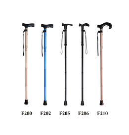 Five Section Folding Canes