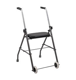 Aluminum Folding Rollator With two 4.5' Wheels