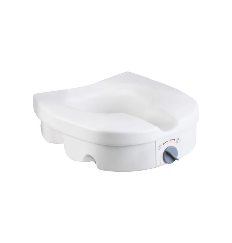 E-Z lock add 5' height Raised Toilet Seat W/O Handles