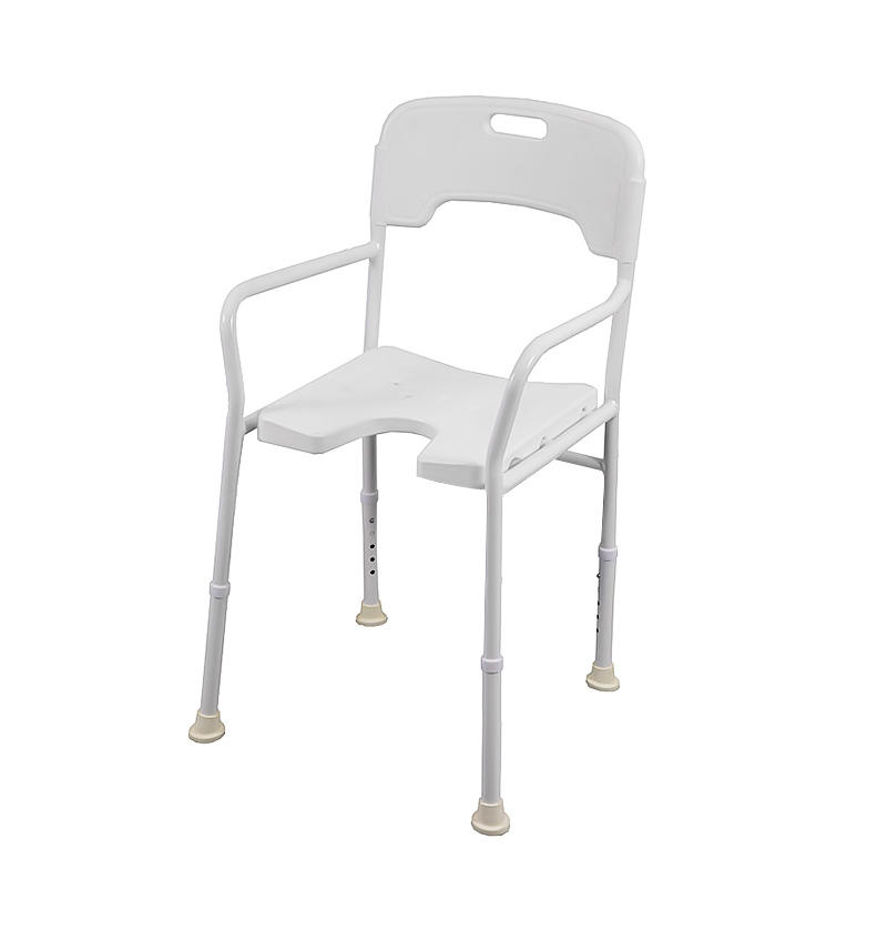 B811 Aluminum Bath Seating With Armrests And Backrest